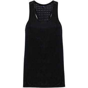 Textiel Dames Mouwloze tops Tridri TR041 Zwart