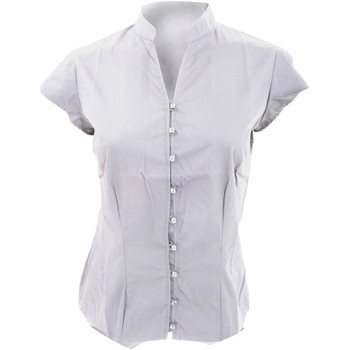 Textiel Dames Overhemden Kustom Kit KK727 Wit
