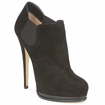 Schoenen Dames Low boots Casadei 8532G157 Zwart