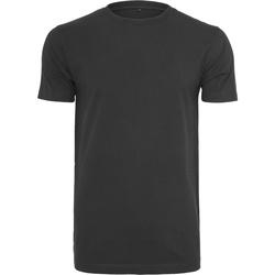 Textiel Heren T-shirts korte mouwen Build Your Brand BY004 Zwart