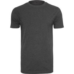 Textiel Heren T-shirts korte mouwen Build Your Brand BY004 Houtskool