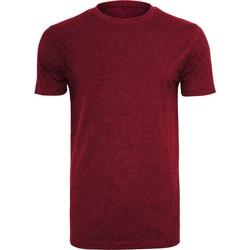 Textiel Heren T-shirts korte mouwen Build Your Brand BY004 Bourgondië