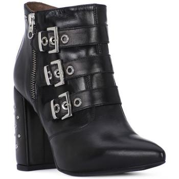 Schoenen Dames Hoge laarzen Nero Giardini NERO GIARDINI  NAPPA PANDORA Nero