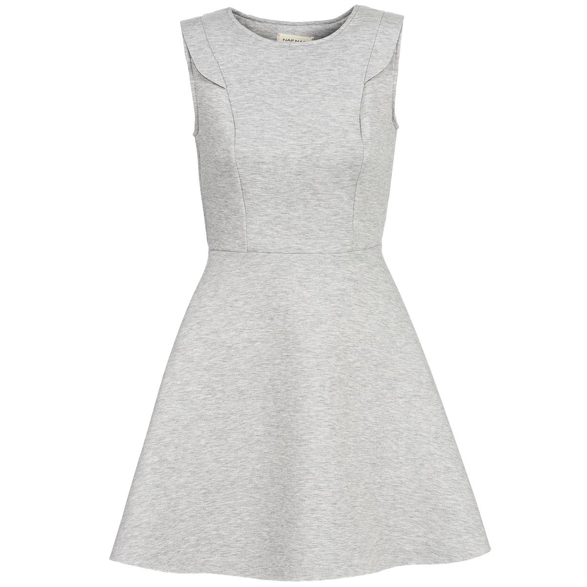 NAF NAF korte jurk elola grijs