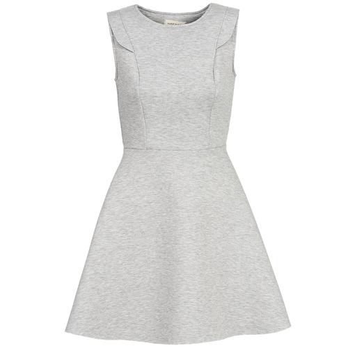 Textiel Dames Korte jurken Naf Naf ELOLA Grijs