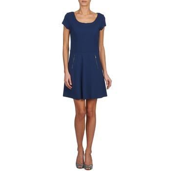 60d44669d105ee van hoge kwaliteit Textiel Dames Korte jurken Naf Naf KANT Marine ...
