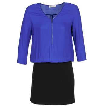 Textiel Dames Korte jurken Naf Naf KIMON DR Blauw / Zwart