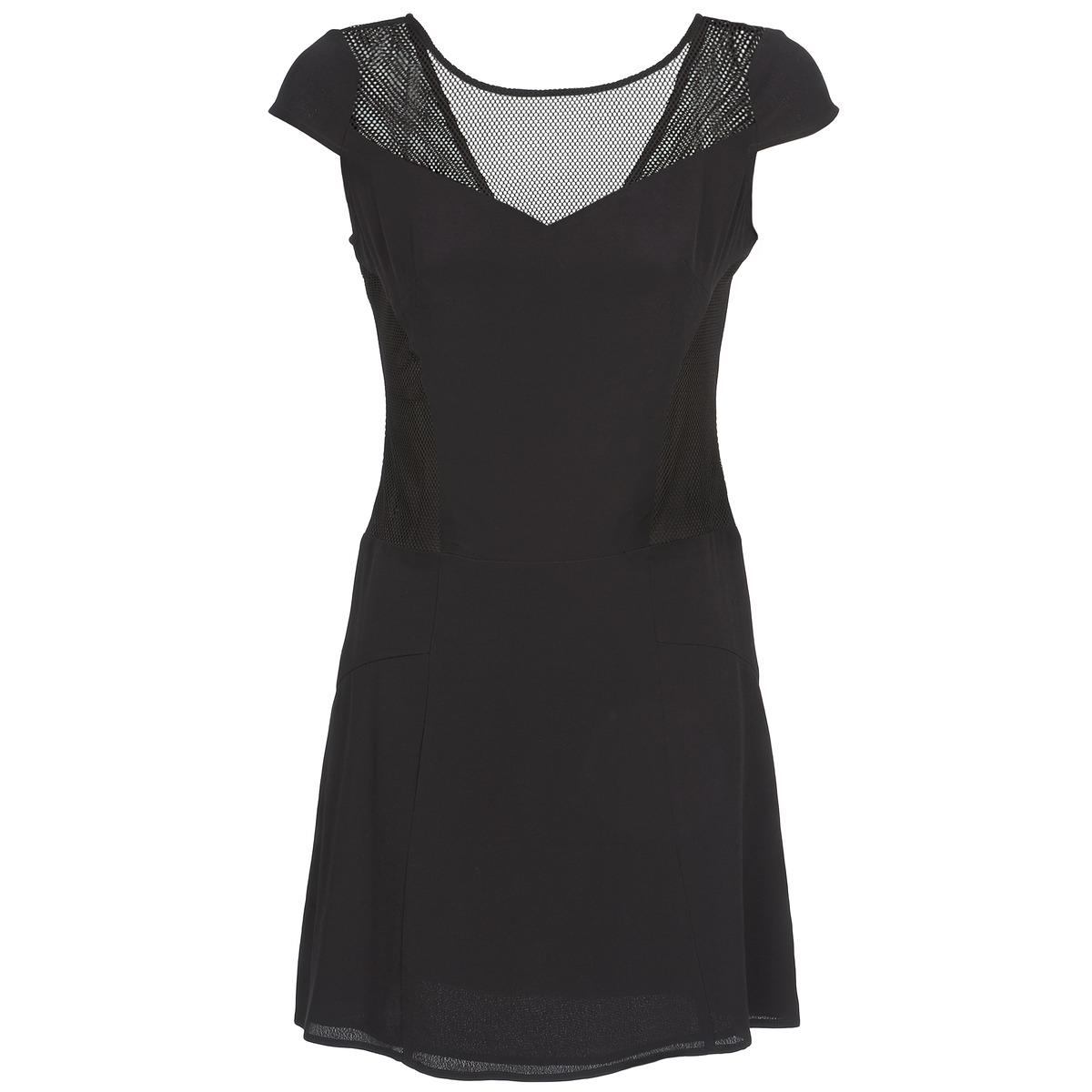 NAF NAF korte jurk klak zwart