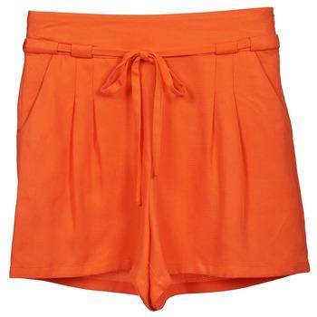 Textiel Dames Korte broeken / Bermuda's Naf Naf KUIPI Oranje
