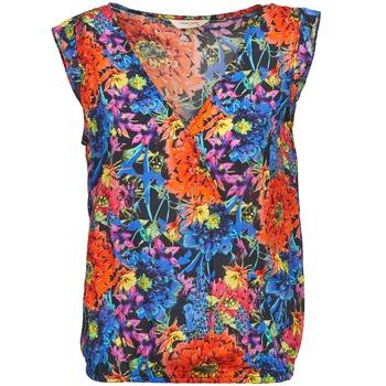Textiel Dames Tops / Blousjes Naf Naf LAFOLI BO Multi