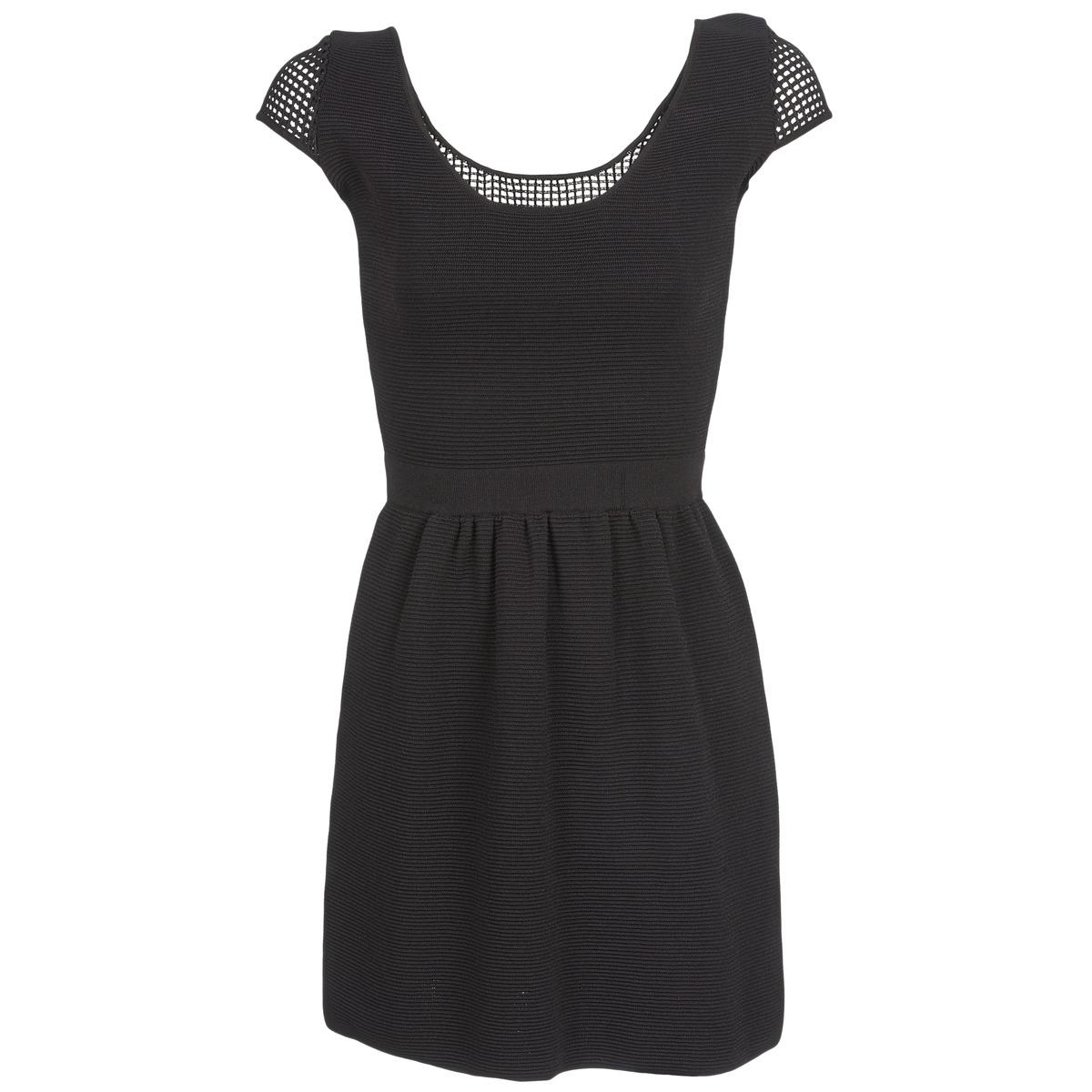 NAF NAF korte jurk manguilla zwart