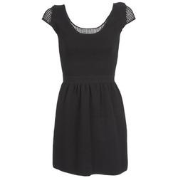 Textiel Dames Korte jurken Naf Naf MANGUILLA Zwart
