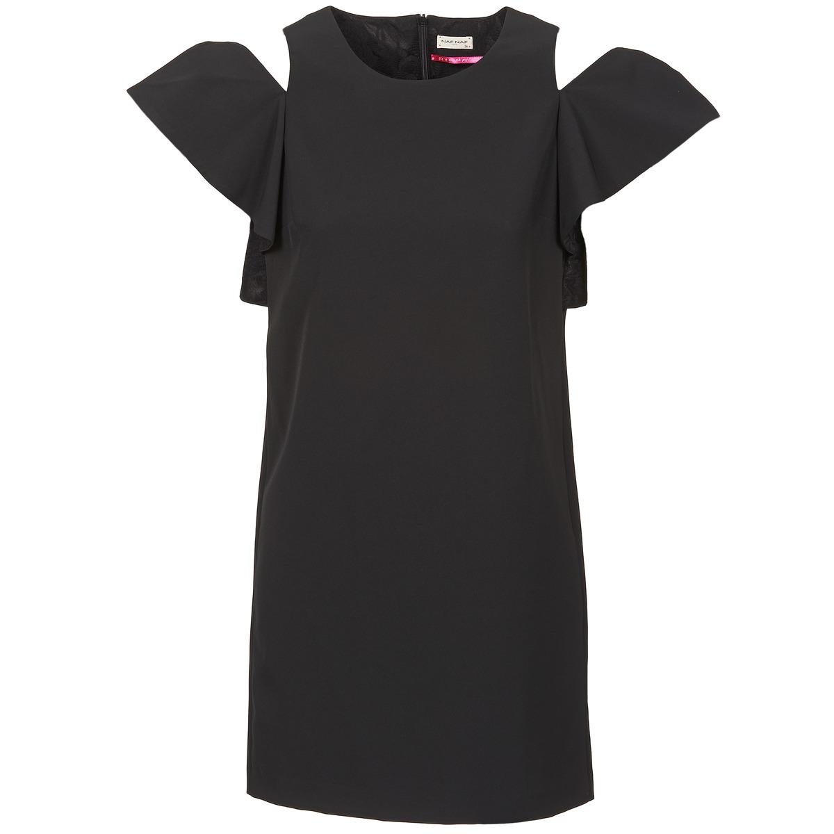 NAF NAF korte jurk x-karli zwart