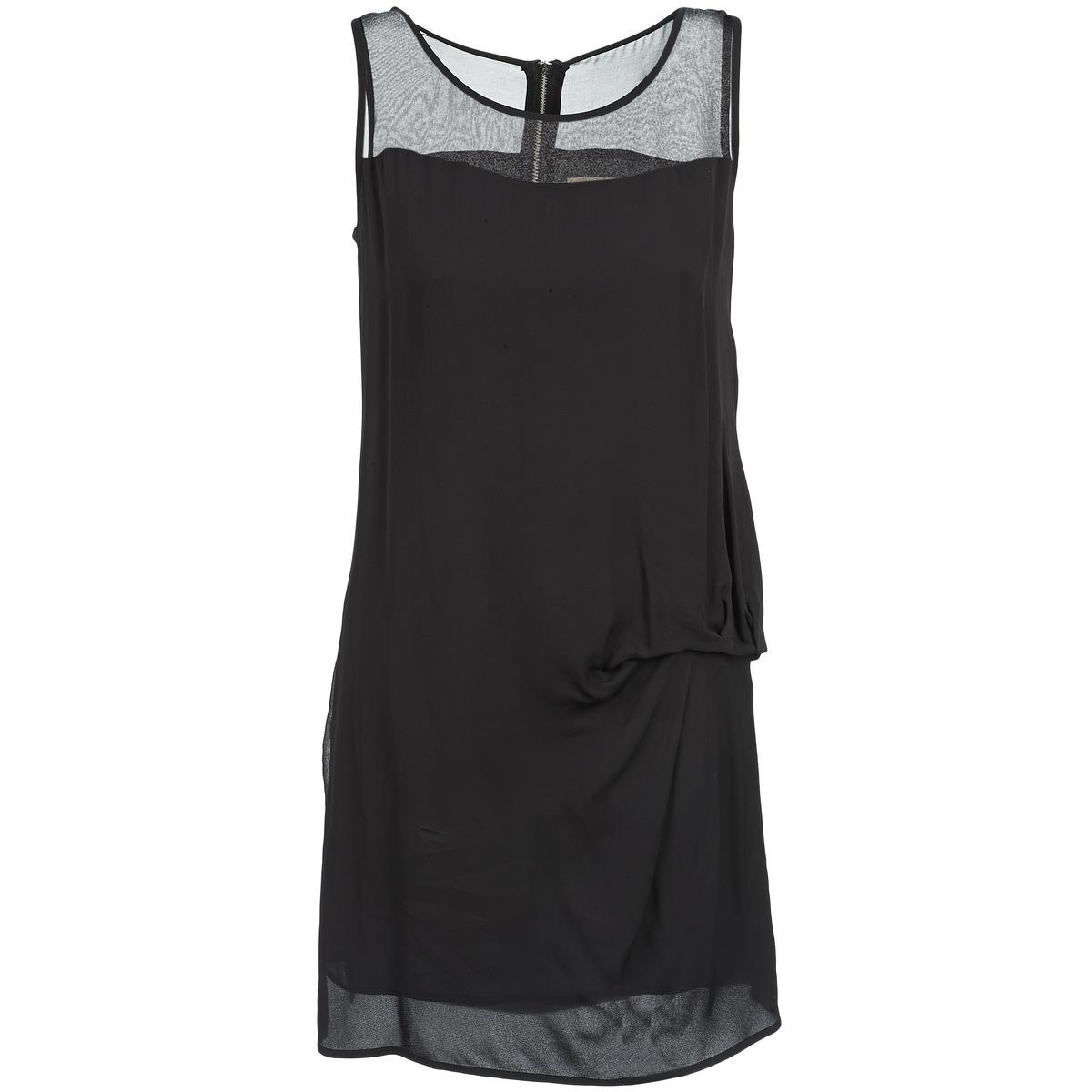 NAF NAF korte jurk x-lamo zwart
