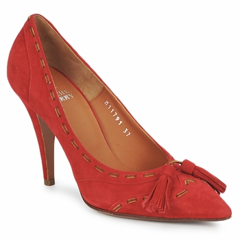 Schoenen Dames pumps Michel Perry CAMOSCIO Rood