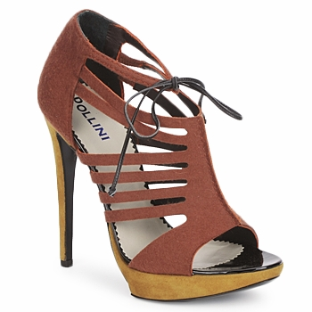 Schoenen Dames Sandalen / Open schoenen Pollini PA1602 Vilt-roest