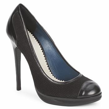Schoenen Dames pumps Pollini PA1010 Lime-wol-zwart