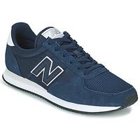 Schoenen Lage sneakers New Balance U220 Blauw