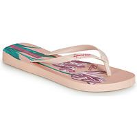 Schoenen Dames Teenslippers Ipanema BOTANICALS Roze