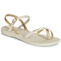 Schoenen Dames Sandalen / Open schoenen Ipanema FASHION SANDAL VII Beige / Goud
