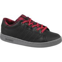 Schoenen Kinderen Lage sneakers K-Swiss Hoke Plaid Noir