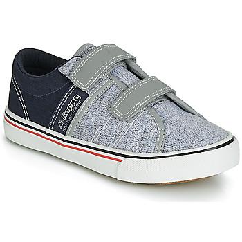 Schoenen Jongens Lage sneakers Kappa CALEXI V Grijs / Marine