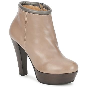Schoenen Dames Low boots Keyté POULOI Taupe