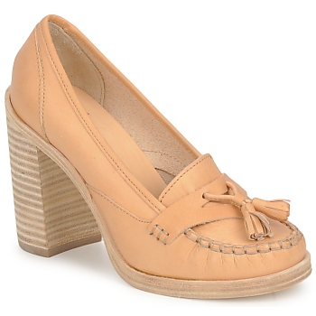 Schoenen Dames pumps Swedish hasbeens TASSEL LOAFER Beige