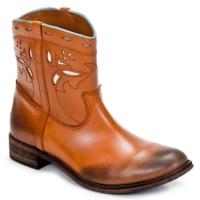 Schoenen Dames Laarzen Strategia PONCHO Bruin