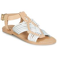 Schoenen Dames Sandalen / Open schoenen André NIRVANA Wit