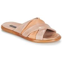Schoenen Dames Leren slippers Neosens AURORA Beige / Nude