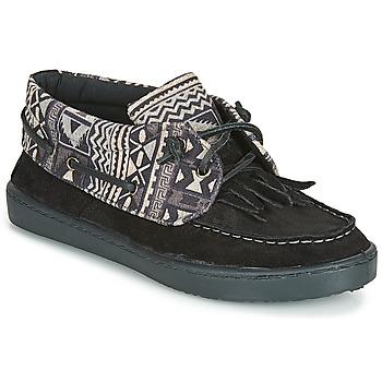 Schoenen Dames Lage sneakers André MARGUERITE 8 Zwart