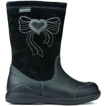 Schoenen Kinderen Hoge laarzen Garvalin Noa Biomecanics Boots schwarze