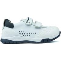 Schoenen Kinderen Lage sneakers Biomecanics ANDY-schoenen WIT_BLAUW