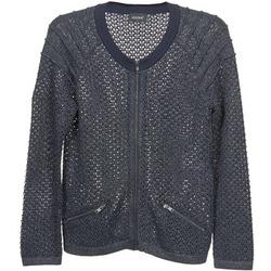 Textiel Dames Vesten / Cardigans Kookaï TOULIA Marine