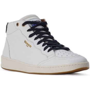 Schoenen Heren Sneakers Blauer WHITE MURRAY HI Bianco