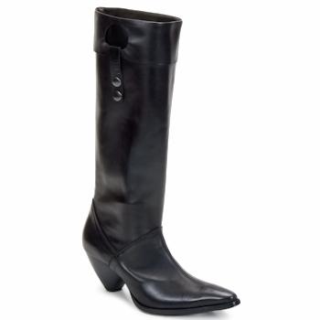 Schoenen Dames Hoge laarzen Stephane Gontard PUCCINI Zwart