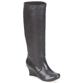 Schoenen Dames Hoge laarzen Vialis GRAVAT Zwart