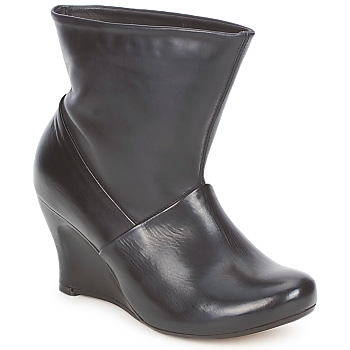 Schoenen Dames Enkellaarzen Vialis SILINI Zwart
