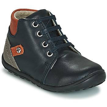 Schoenen Kinderen Hoge sneakers André BAMBIN Marine