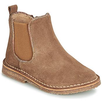 Schoenen Kinderen Laarzen André ARIA Camel