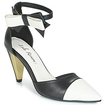 Schoenen Dames Sandalen / Open schoenen Lola Ramona RAMONA Zwart / Wit