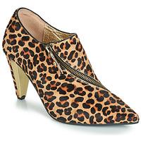 Schoenen Dames Enkellaarzen Lola Ramona RAMONA Luipaard