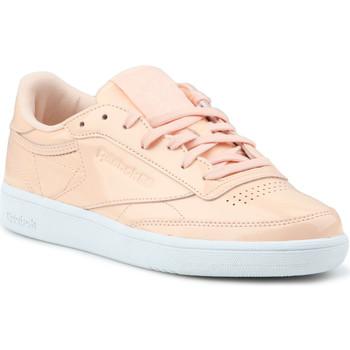 Schoenen Dames Lage sneakers Reebok Sport Club C 85 Patent BS9778 orange