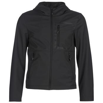 Textiel Heren Wind jackets Geox TIRPIRUTE Zwart