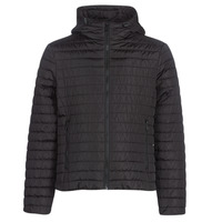 Textiel Heren Dons gevoerde jassen Geox TIRPIRUNE Zwart