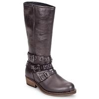 Schoenen Meisjes Hoge laarzen Hip NIEGRA Bruin