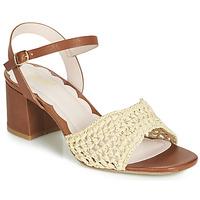 Schoenen Dames Sandalen / Open schoenen Miss L'Fire MIRO Bruin