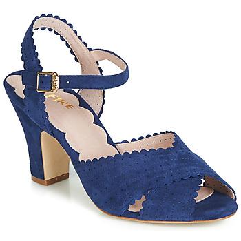 Schoenen Dames Sandalen / Open schoenen Miss L'Fire BEATRIZ Blauw