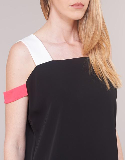 Armani Exchange Helabino Zwart - Gratis Levering Textiel Korte Jurken Dames 10660